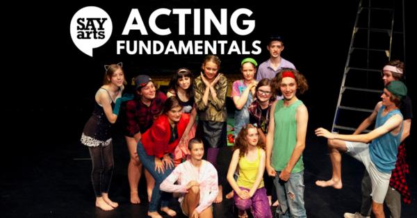 SAYarts Acting Fundamentals drama classes